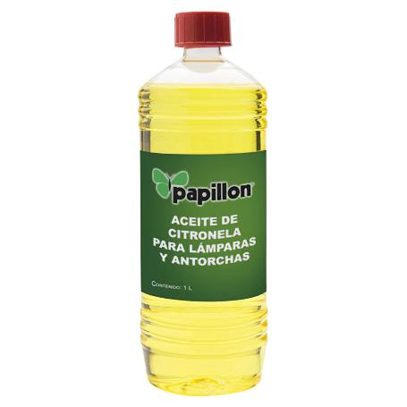 Aceite para antorcha antimosquitos citronela 1lt