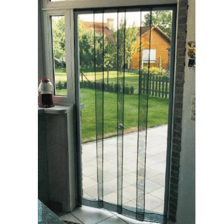Mosquitera cortina fibra vidrio  80x240 cm